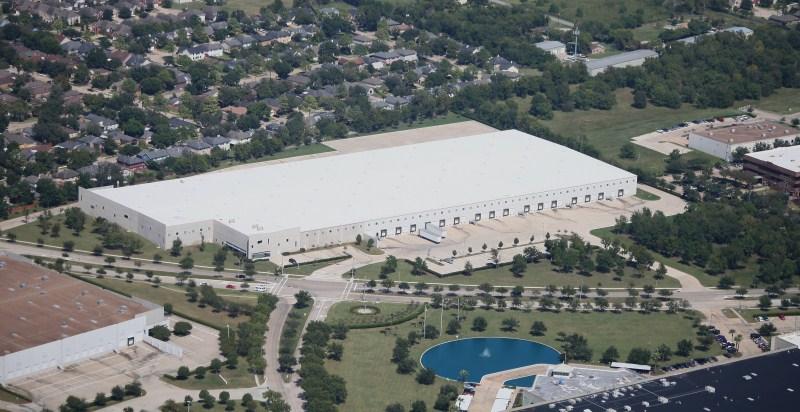 Commerce Center Houston Aerial