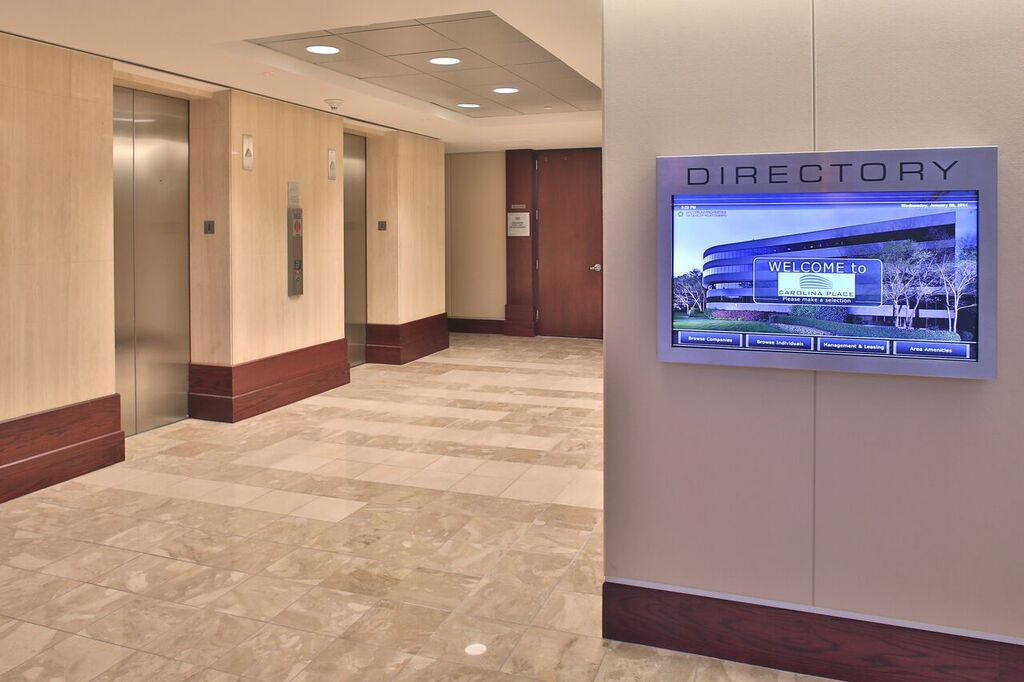 Carolina Place Directory Elevators