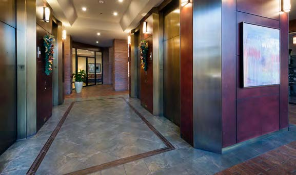 Colonnade Elevators Lobby