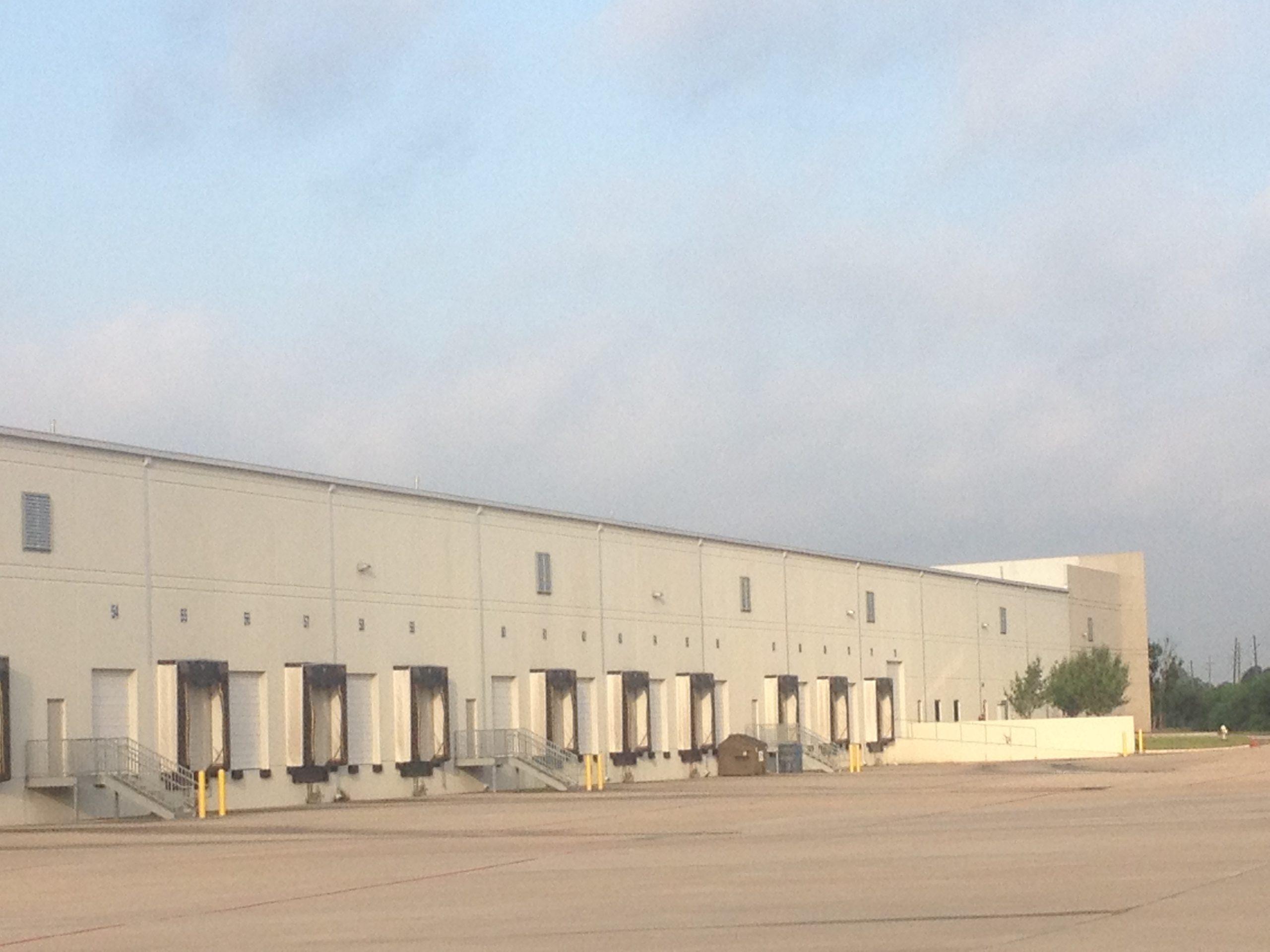 Commerce Center Houston exterior docks