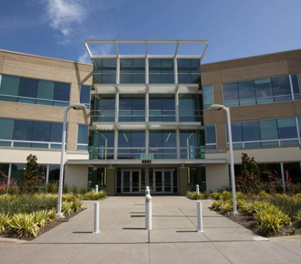 Plano Corporate Center Entrance