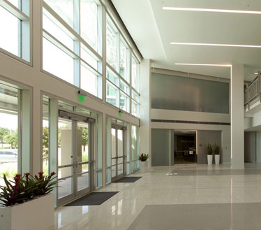 Plano Corporate Center Lobby